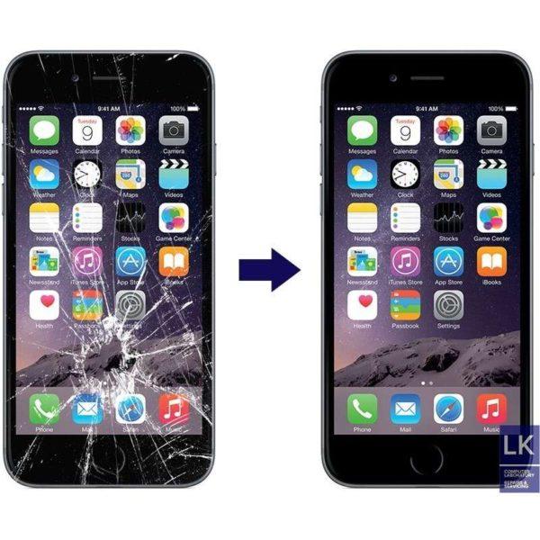 Iphone 6S plus ép kính xong