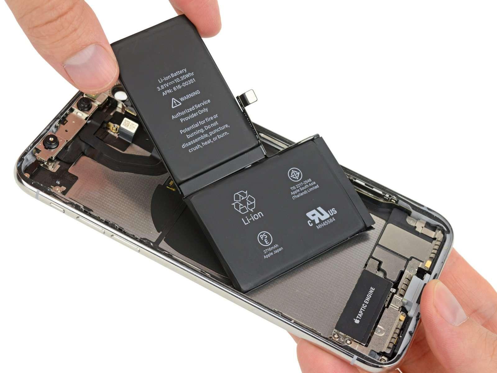 Thay Pin iPhone X giá rẻ tại thái hà