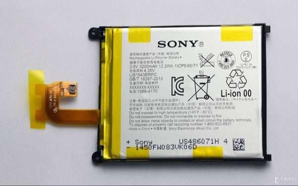 Pin Sony Z