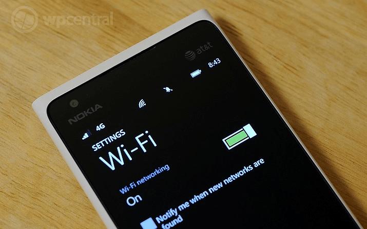 Sửa Nokia lỗi wifi