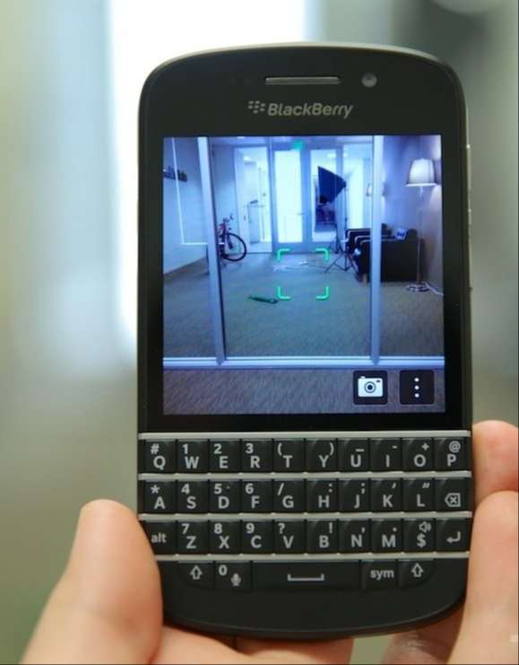Sửa Blackberry lỗi camera