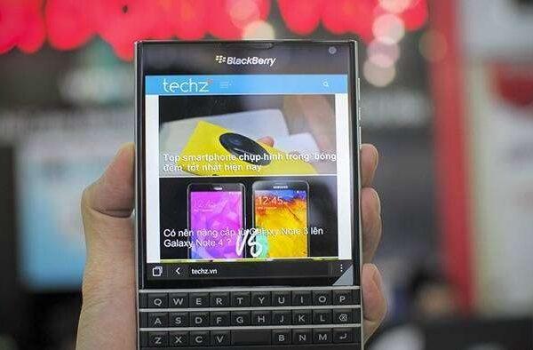 Sửa Blackberry lỗi mất sóng