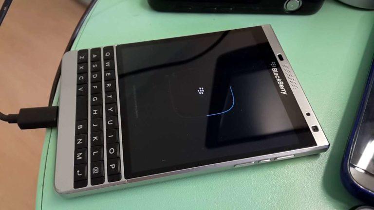 Sửa Blackberry lỗi không nhận sạc – Usb
