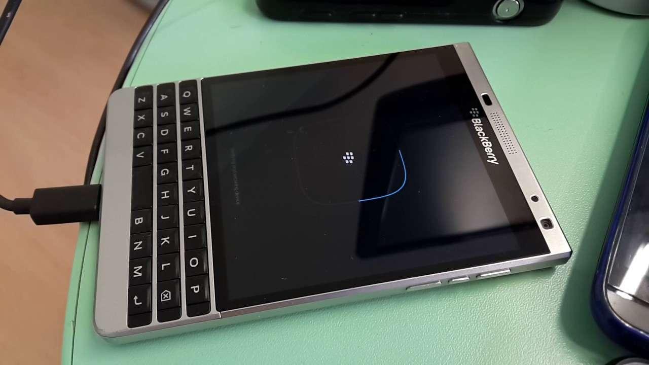 Sửa Blackberry lỗi không nhận sạc - Usb