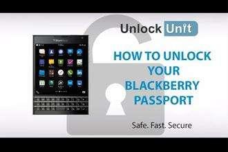 Unlock – mở mạng điện thoại BlackBerry