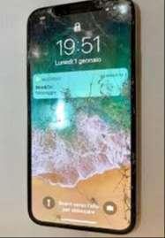 Iphone X nứt kính