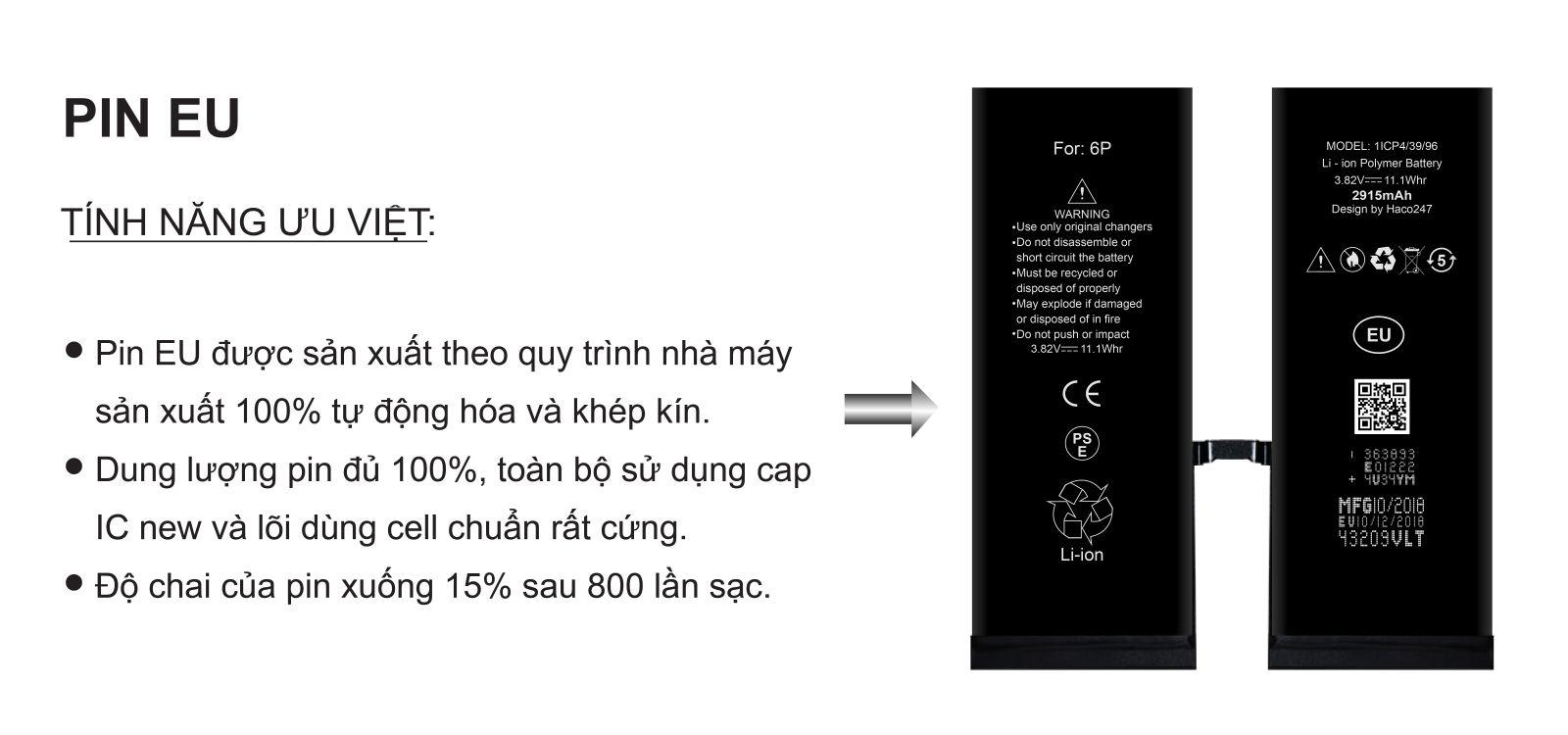 Thay pin iphone uy tín chất lượng giá rẻ
