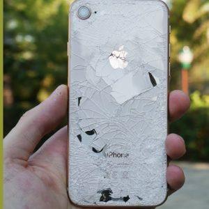 Vỏ iPhone 8 bể