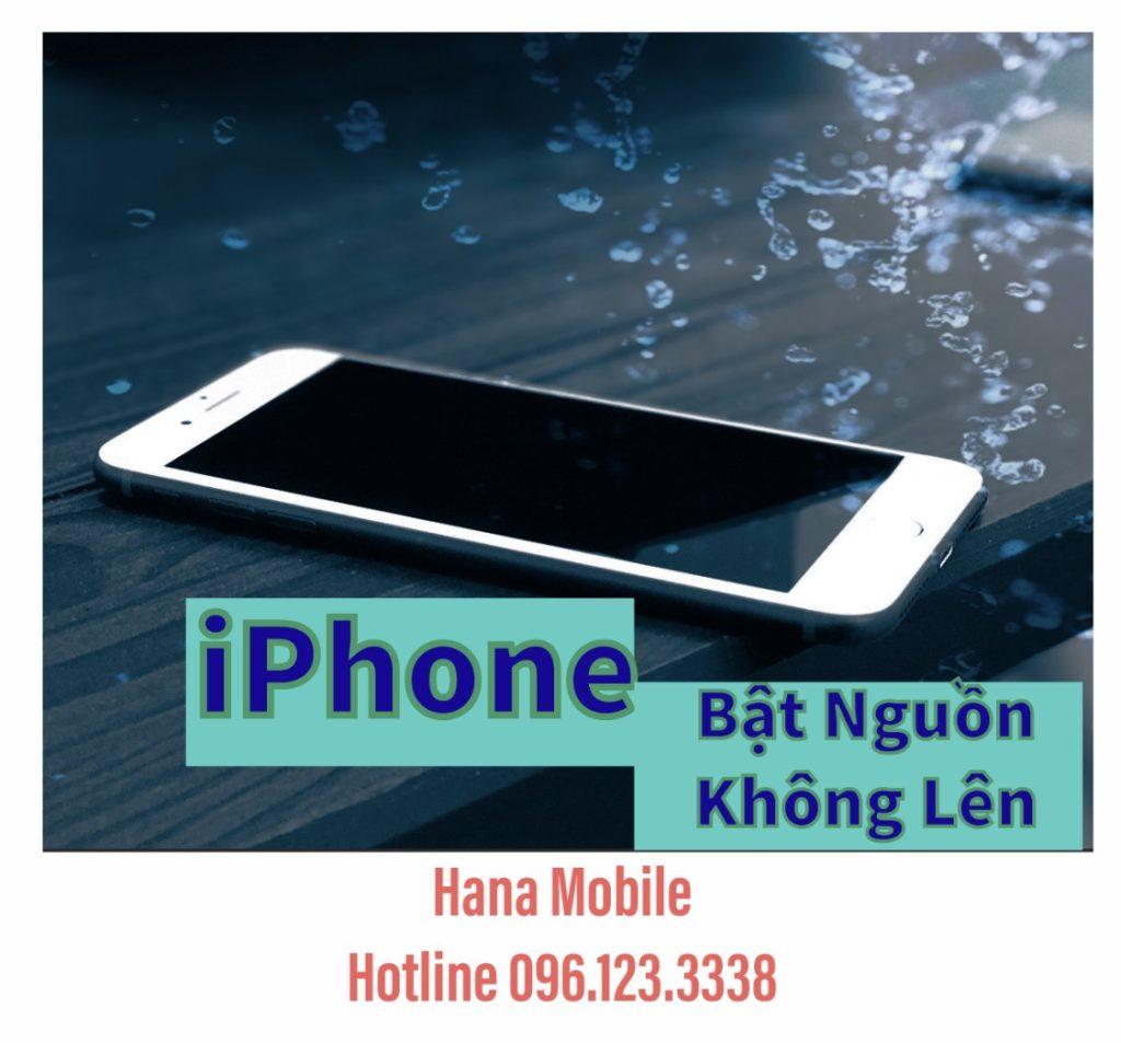 iPhone 7 Plus bị mất nguồn, không bật nguồn lên, không tín hiệu
